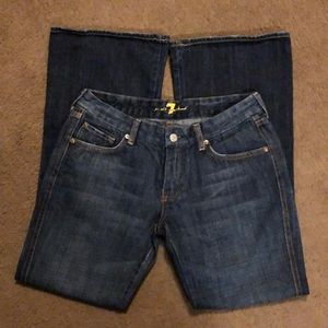7 for all mankind 'Pink A pocket' jeans 30x30